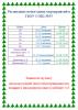 Расписание новогодних мероприятий