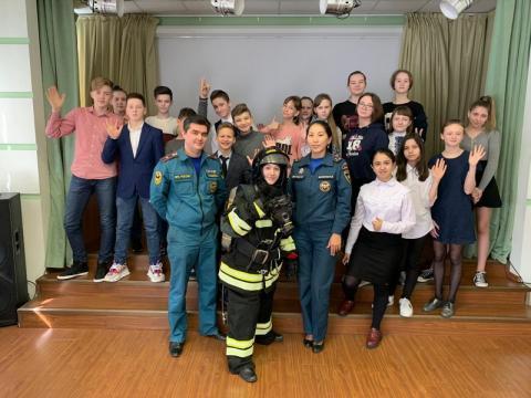 Пожарный - профессия героическая!